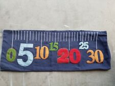 "Pottery Barn Kids ""Ruler-Numbers"" 14 X 36 Pillow Cover"