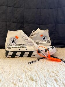 Off-White X Converse UK7 No Box