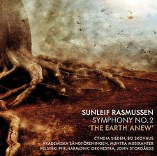 Rasmussen / Sieden / - Sunleif Rasmussen: Symphony 2 The Earth Anew [New CD]