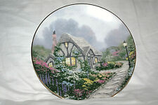 """""""Chandler's Cottage"""" by Thomas Kinkade Knowles collector plate 1991"""