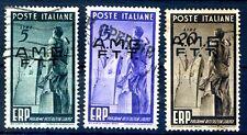 TRIESTE A - 1949   E.R.P.   SERIE  USATA