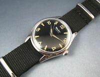 Vintage Wyler Incaflex Stainless Steel Mens Watch WM29 17J 1960s Vietnam Era