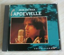 RARE CD ALBUM BEST OF COLLECTION OR JEAN PATRICK CAPDEVIELLE 12 TITRES 1992