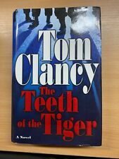 "2003 1ST US EDITION TOM CLANCY ""THE TEETH OF THE TIGER"" FICTION H/B BOOK (P5)"