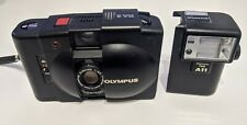 Olympus XA A11 35mm Compact Film Camera with 35 mm Lens + Flash Bolt-On