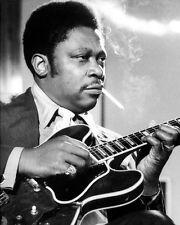 Blues Soul Singer BB KING Glossy 8x10 Photo Music Guitarist Print Poster