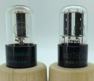 6SN7GT USA 2 pieces USED tube valve