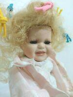 Paige Porcelain Doll Gustave F. Wolff Wimbledon World Famous Designer Collection