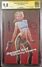 IDW Comics DANGER GIRL TWENTY YEARS #1 CGC SS 9.8 J Scott Campbell RED Variant
