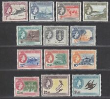 British Virgin Islands 1956 Queen Elizabeth II Set Mint SG149-161 cat £110