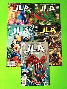 JLA CLASSIFIED #18,19,20,32,36, AVG VF+8.5, 2006-2007 DC, COMBINED SHIPPING