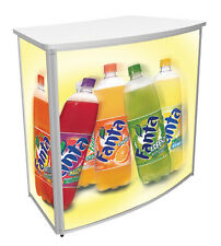 Promo Counter (Convex) Trade Exhibition Event Fairs Display Stand