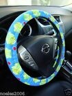 Hand Made Steering Wheel Covers Cute Frogs and Ladybugs