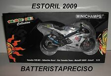 MINICHAMPS VALENTINO ROSSI 1/12 YAMAHA M1  GP ESTORIL  2009  LIMITED ED 5999 NEW