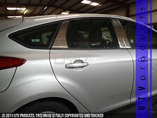 GTG 2012 - 2014 Ford Focus 4dr and Hatchback 6PC Chrome Stainless Steel Pillars
