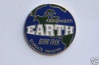 Star Trek Assignment Earth Original Series Episode Pin Badge STPIN7955