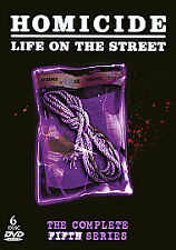 Homicide: Life On The Street 5th Season Dvd Brand New & Factory Sealed