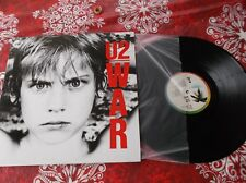 U2  WAR LP  Canada pressing