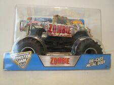 Hot Wheels Monster Jam 2016 Zombie Die-Cast Vehicle 1:24 Scale NIB