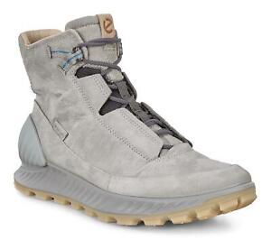 New Men`s ECCO Exostrike Mid Boots Bowmar 832314 Dyneema Bonded Leather