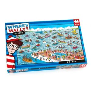 WHERE'S WALLY AT SEA 100 - 250 PIECES PUZZLE Town Jurassic Dinossaurs Kids