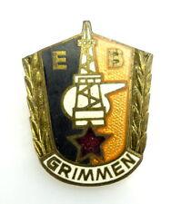 Abzeichen VEB Kombinat Erdöl - Erdgas  EB Grimmen Gommern e1759