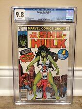 Savage She-Hulk #1 CGC 9.8 Newsstand 1st She Hulk Marvel Key RARE MOVIE KEY news