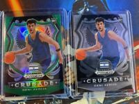 2020-21 Panini Prizm Draft Picks DENI AVDIJA RC Crusade GREEN Prizm rookie card