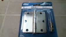 National Hardware N337-048 V512Rc Door Hinge in Satin Nickel