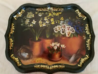 Ian Logan Platter Tray Hand Painted by Artist Lucy Neil Collectible Vintage