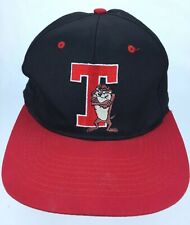 1993 Tazmanian Devil snapback Looney Tunes Cartoon Space Jam Hat TAZ Vintage A