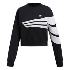 Adidas Women's Originals Sweatshirt Black-White DU9601