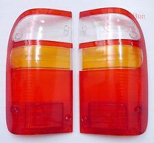For 1995-2004 Toyota Hilux Tiger D4D Sr5 Tail Lamp Lens Pair LH+RH