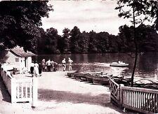 Bad Nauheim , Partie am großen Teich , Ansichtskarte, ungelaufen