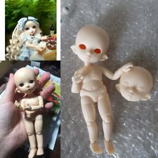 Cute Exquisite 1/8 BJD SD Girl Doll Resin Element body DIY Handmade Tow Head Toy