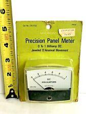 Micronta Model 270-1752 Precision DC Micro-Amp NOS NIB Panel Meter