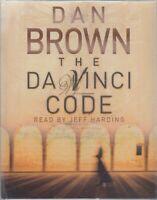 Dan Brown The Da Vinci Code 4 Cassette Audio Book Robert Langdon Abridged