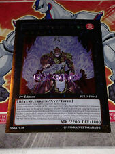 Carte Yu Gi Oh CONFRERIE DU POING DE FEU - ROI TIGRE PGLD-FR045