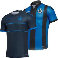 Lazio Rom macron Herren Damen Fußball Sport Fan Trainings Poloshirt blau braun