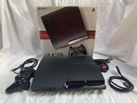 Sony Playstation 3 cech 2003 B Console & Official Wireless Controller Boxed VGC