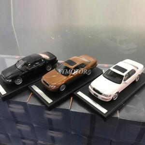 IVY 1/18 Toyota Lexus LS400 Low lying Diecast Car Model hobby Black/White/Brown