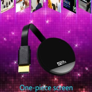 1X(G4 TV Dongle 1080P TV Stick WiFi Dongle Display Receiver for Android Net P5Q5