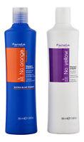 Fanola No Yellow Shampoo & No Orange Shampoo 350 ml. Hair Care Set