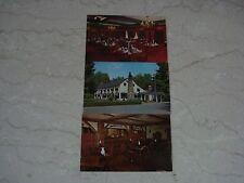 3 Vintage 1970'sThe Old Mill Inn Bernardsville New Jersey Postcards Unused