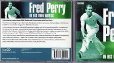 Fred Perry In His Own Words CD Audio Book