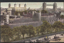 London Postcard - The Tower and Tower Bridge  RS3321