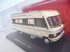 1/43 . CAMPING-CARS . MERCEDES Hypermobil Type 650   HACHETTE