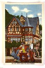 Kunst- & Kultur-Lithographien ab 1945 mit dem Thema Künstlerkarte