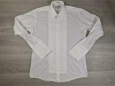 PIERRE BALMAIN Men's Long Sleeve French Cuff Shirt Sz 15 1/2 34/35 Excellent CND