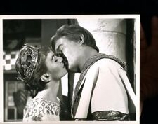 JANETTE SCOTT AS KING ARTHUR'S DAUGHTER,SIEGE OF THE SAXONS  ORIG TV 7X9  X3287